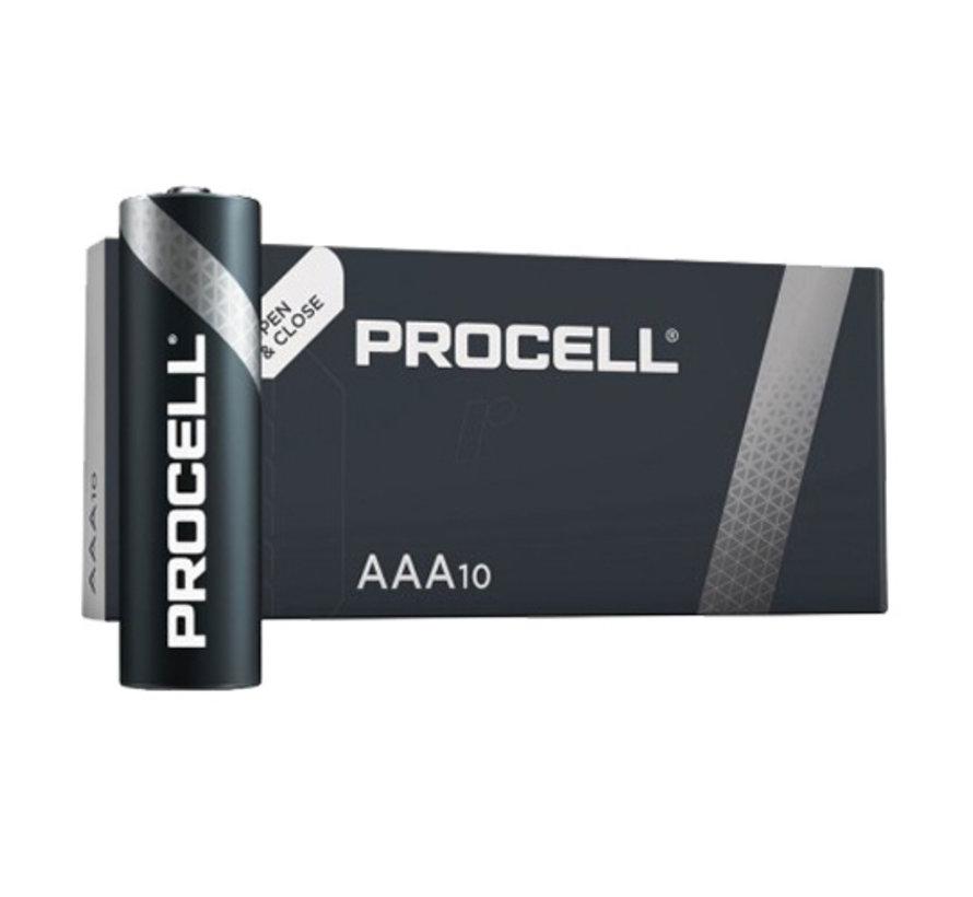 batterijen  Procell  (10 stuks) AAA LR03
