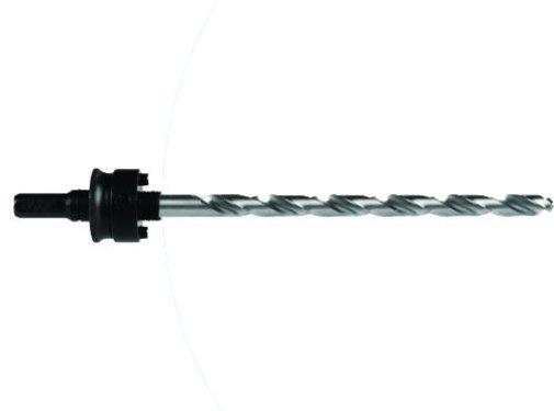 Mandrex Houder met HSS boor voor 165mm TCT gatzagen