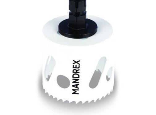 Mandrex MXqs gatzaag Bi-Metaal M42