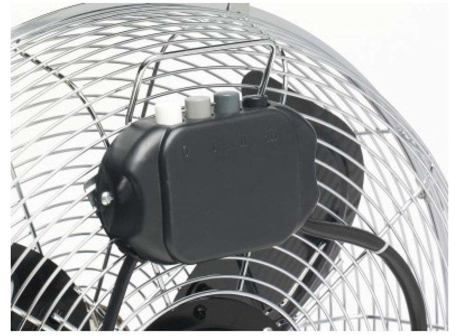Bestron DFA40 chrome Vloerventilator