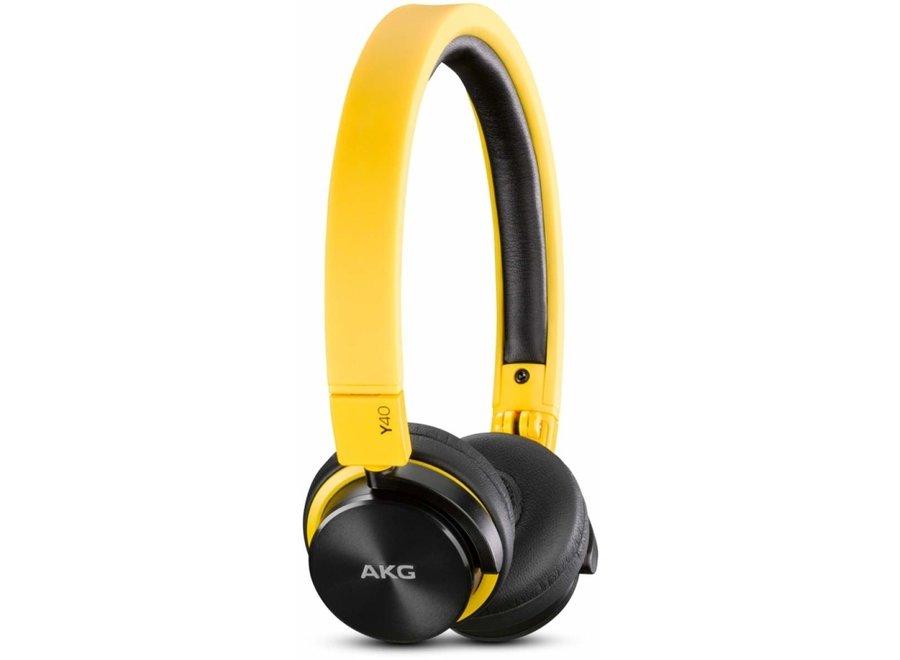 AKG Y40-YEL On-Ear koptelefoon