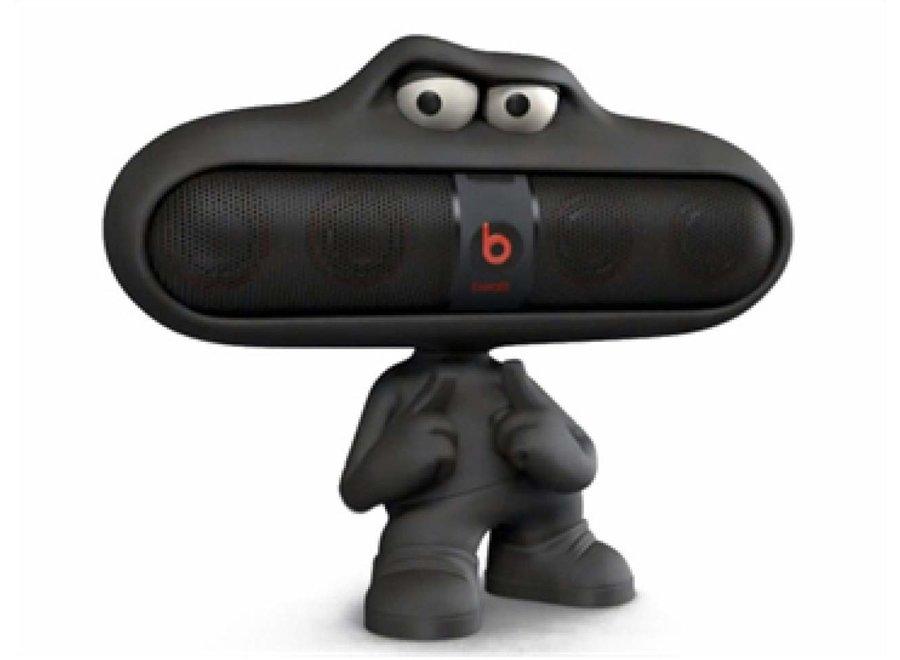 Beats by Dr. Dre Pill Character zwart