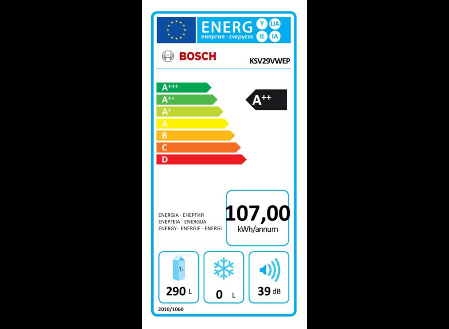 Bosch KSV29VWEP Koelkast