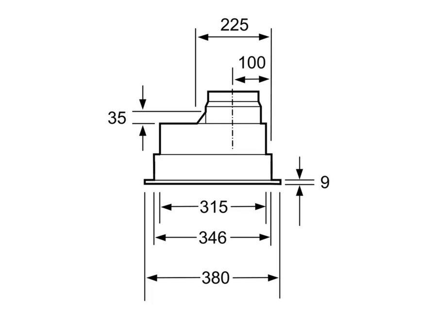 Bosch DHL755BL Afzuigunit