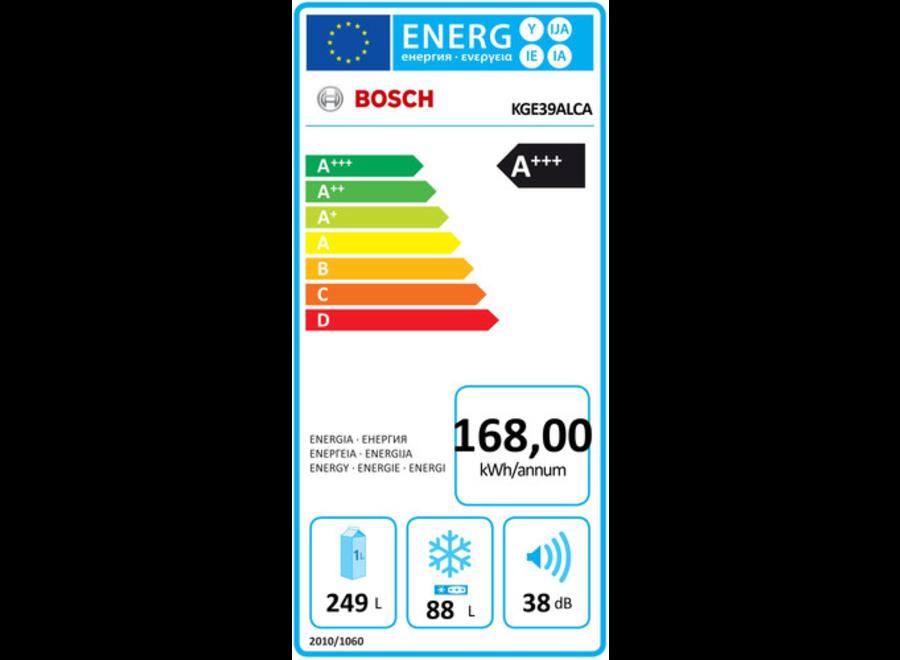 Bosch KGE39ALCA Koel-vriescombinatie