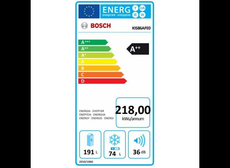 Bosch KIS86AFE0 Inbouw koelvriescombinatie