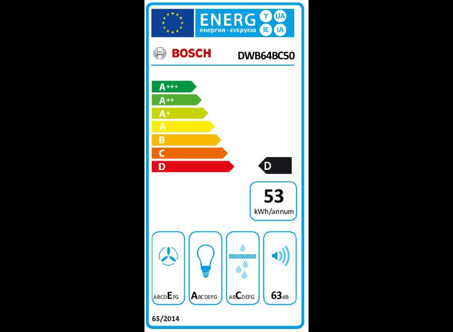 Bosch DWB64BC50 - Wandschouw afzuigkap