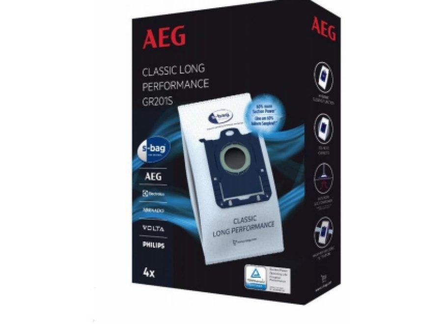 AEG GR201S S-Bag 4 stuks Stofzuigerzakken