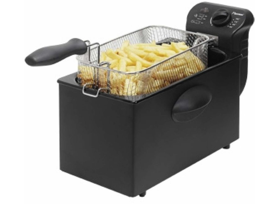Bestron AF357B Friteuse Cool Zone