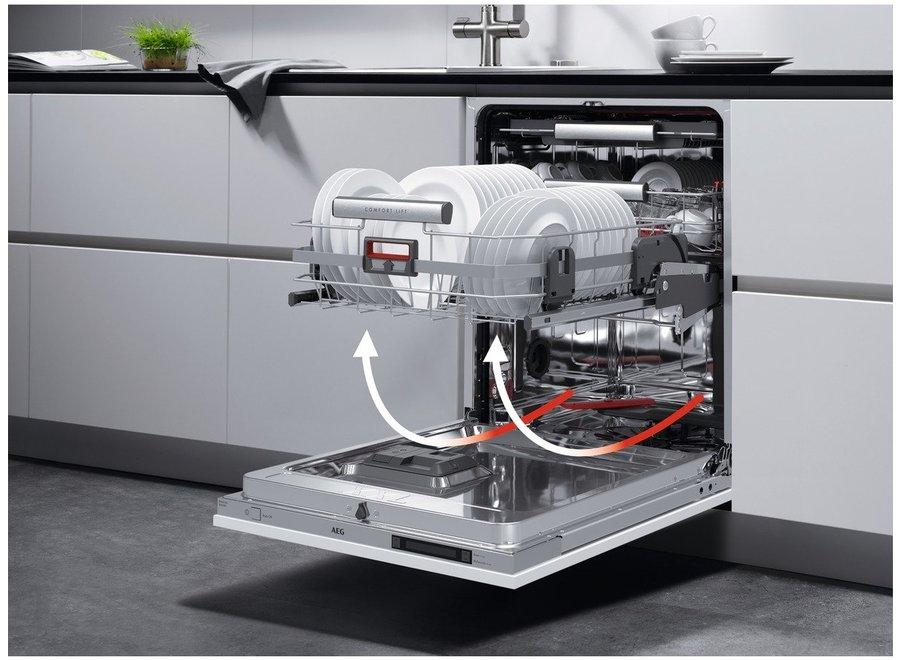 AEG FSS62807P Inbouw Vaatwasser volledig integreerbaar
