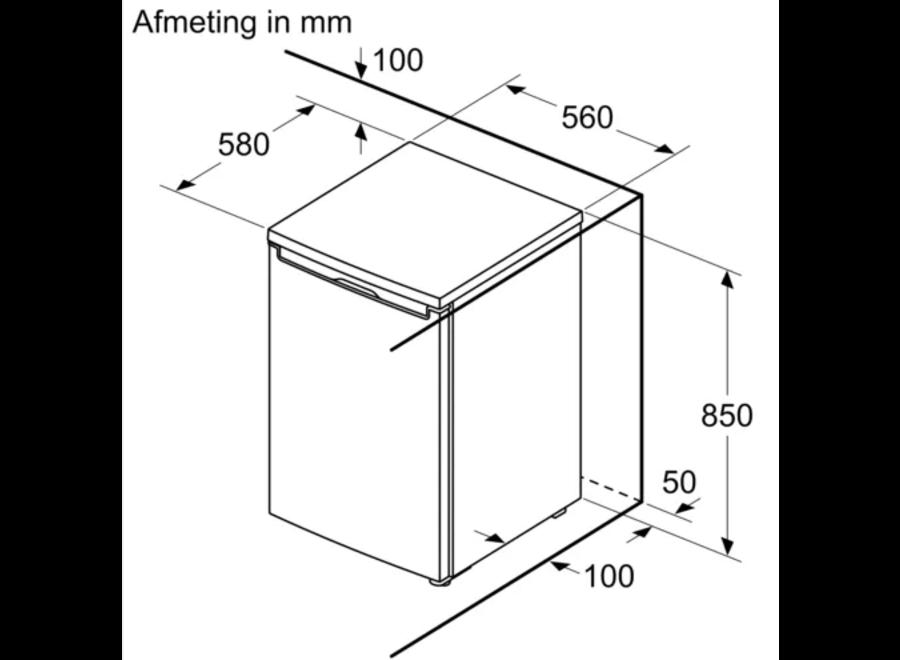 Bosch KTL15NWEA koelkast met vriesvak