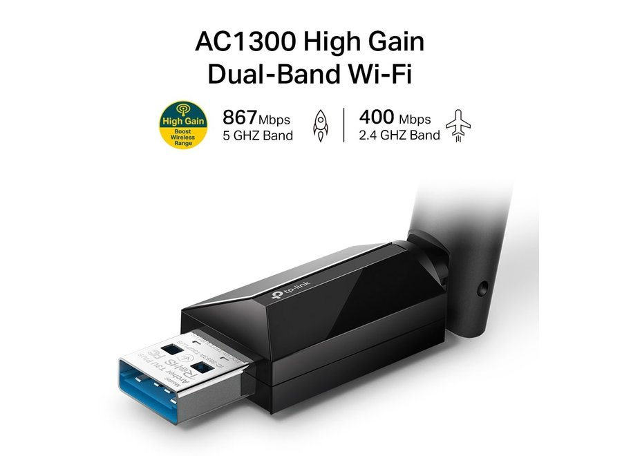 TP-Link Archer T3U Plus USB WiFi Adapter