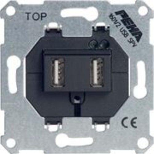 PEHA USB wandcontactdoos