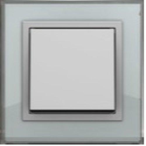 PEHA Aura aluminium glas