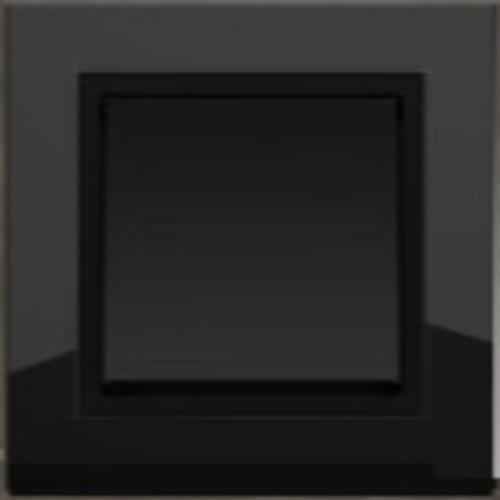 PEHA Aura zwart glas / antraciet