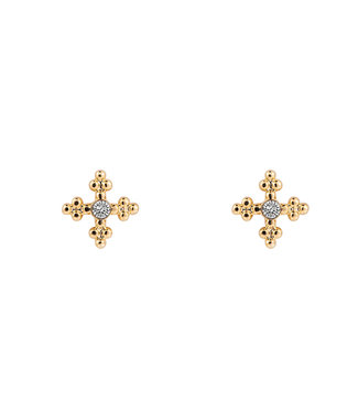 Kaitlyn earstud - gold