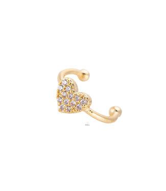 Tiny Heart earcuf