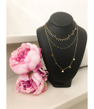Brittany layer necklace