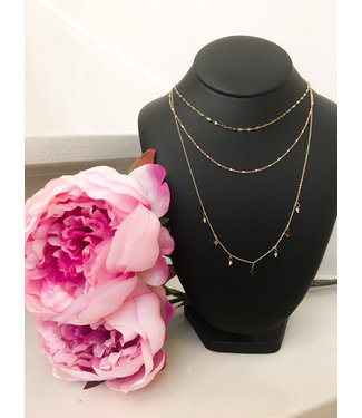 Mary layer necklace