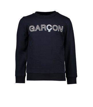 Le Chic Garçon Donkerblauwe Garçon sweater