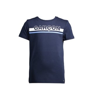Le Chic Garçon Donkerblauwe Garçon t-shirt