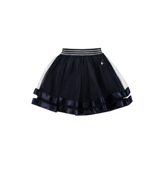 Le Chic Donkerblauwe tulle rok