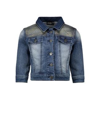 Like Flo Jeans vest met goud detail