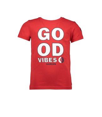 Le Chic Garçon Rode good vibes t-shirt