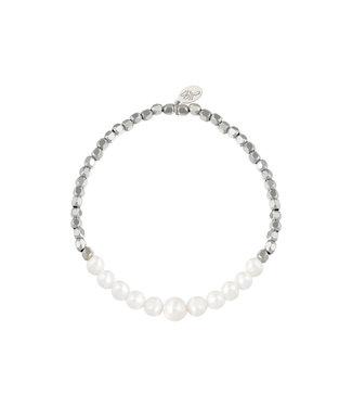 Bracelet Pearlish - Silver