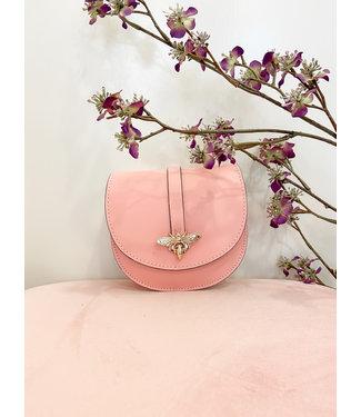 Roze bee handtasje