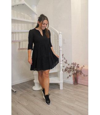 Rosalie zwarte jurk