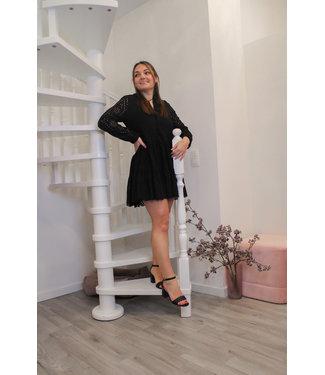Zwarte Thelma jurk
