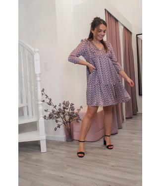 Paarse jurk