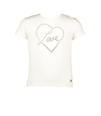 Le Chic golden Love heart T-shirt