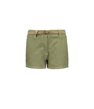 Like Flo Army denim short