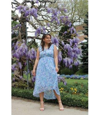 Jessica maxi jurk - Blauw
