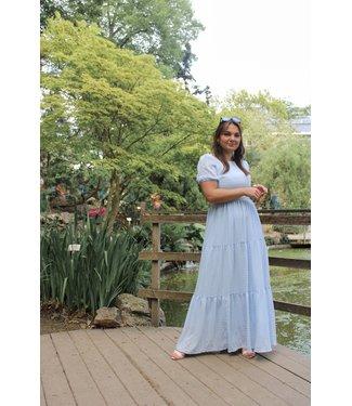 Victoria dress - blauw