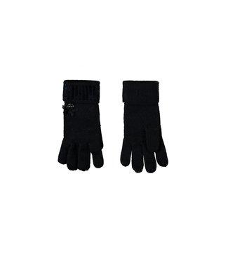 Glitter handschoenen - Blauw