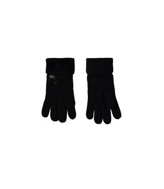 Glitter handschoenen - Zwart