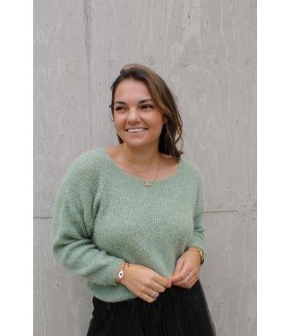 Alessia pull - groen