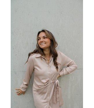 Valeria jurk - beige