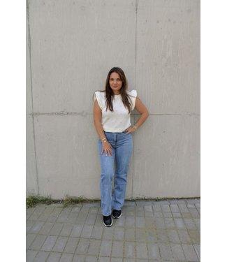 Arianna straight leg jeans - blauw