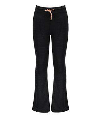 Sam velours flared pants - Black