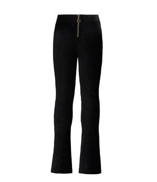 Ruby velvet flared pants - Black
