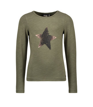 Olive jersey t-shirt
