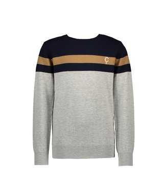 Owen knitted stripe pullover