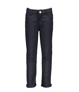 Dylan small check trousers - Navy