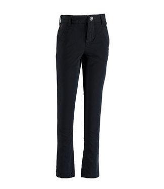Navy chino trousers