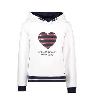 Odera atelier sweater - white