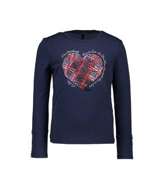 Nora sequin heart t-shirt